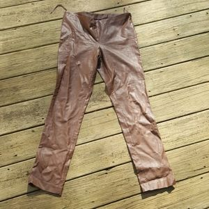 New York ans company pleather pants size 6
